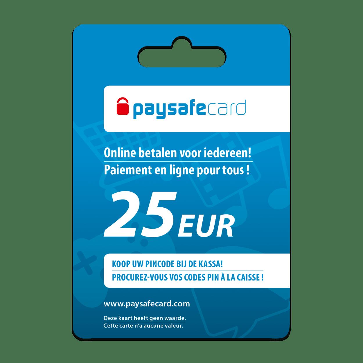 Paysafecard 25