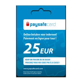 Paysafecard 25 Euro