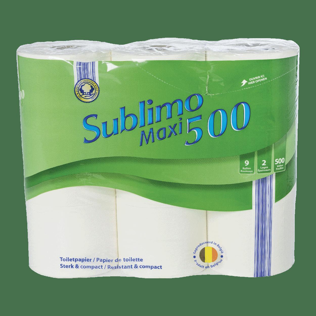 Wc Papier Aldi.Papier Toilette Maxi Pack De 9